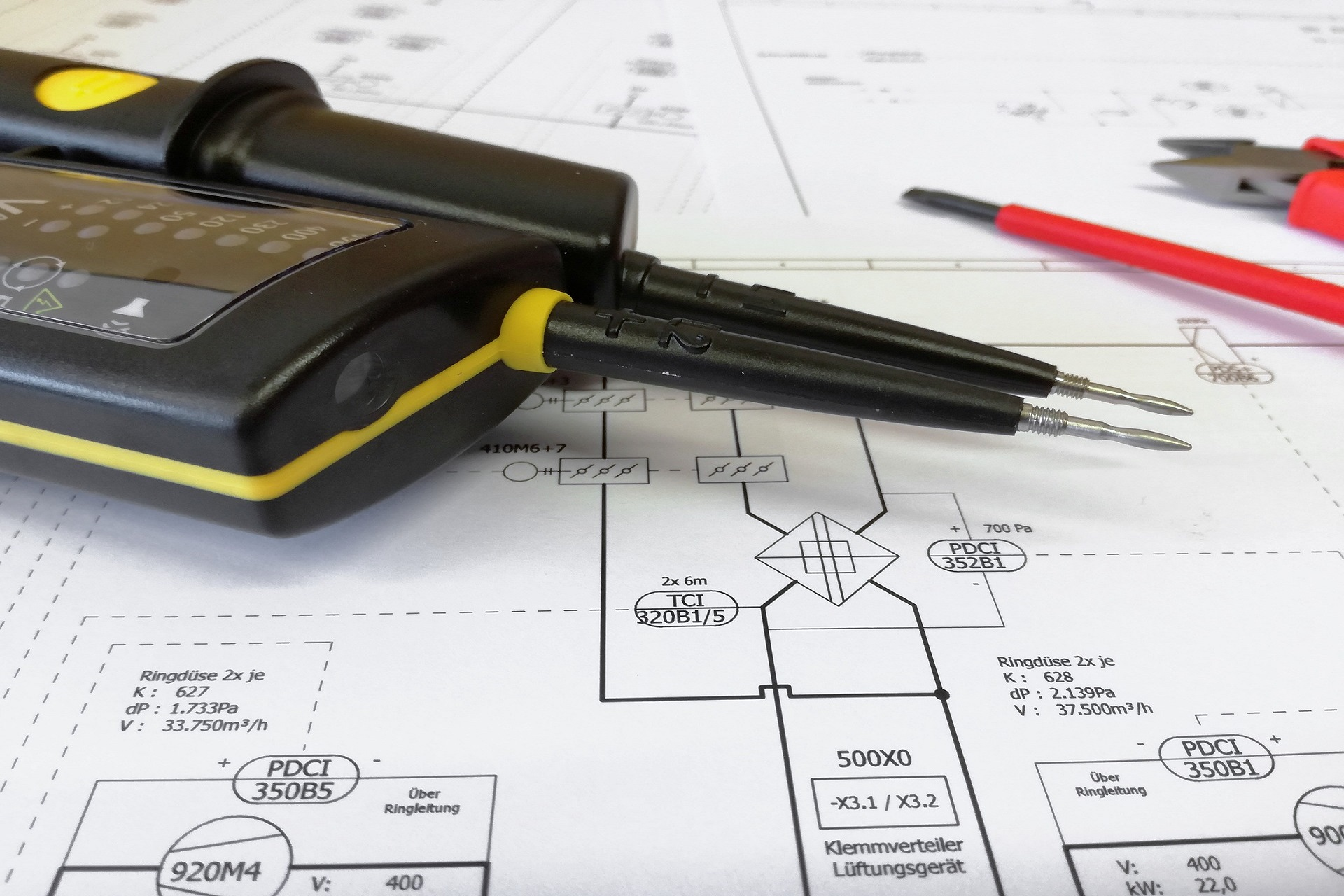 S B Electrical Plans