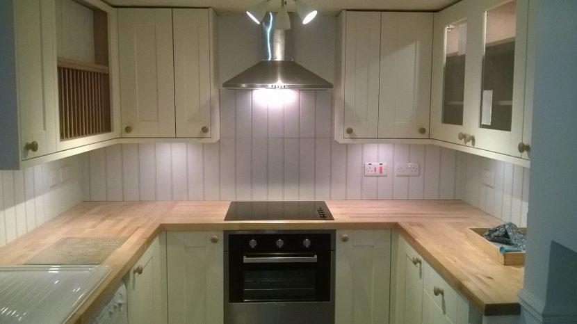 S B Electrical Kitchen Installation 1