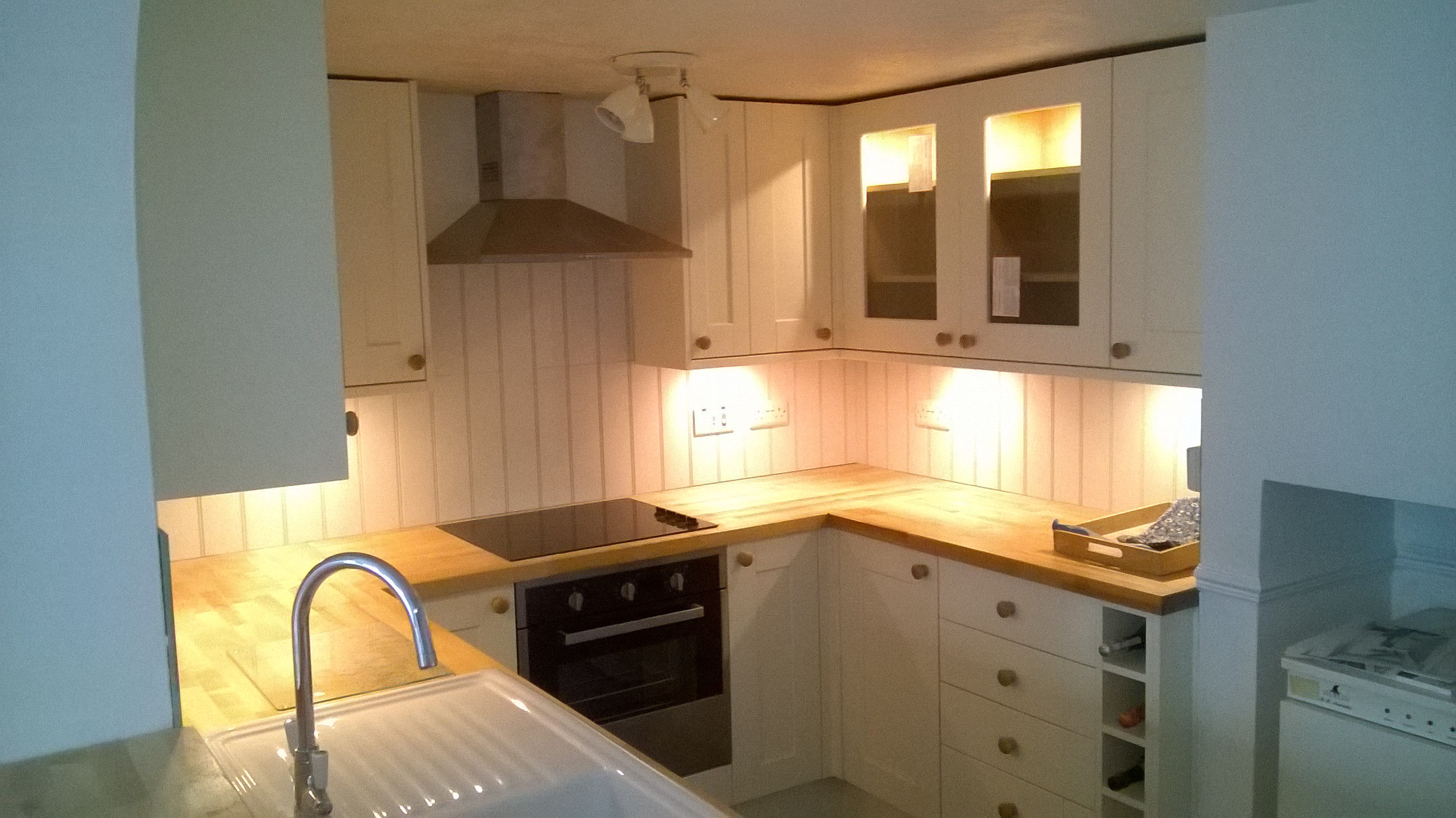 S B Electrical Kitchen Installation 2