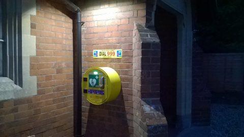 Little Waldingfield Defibrillator