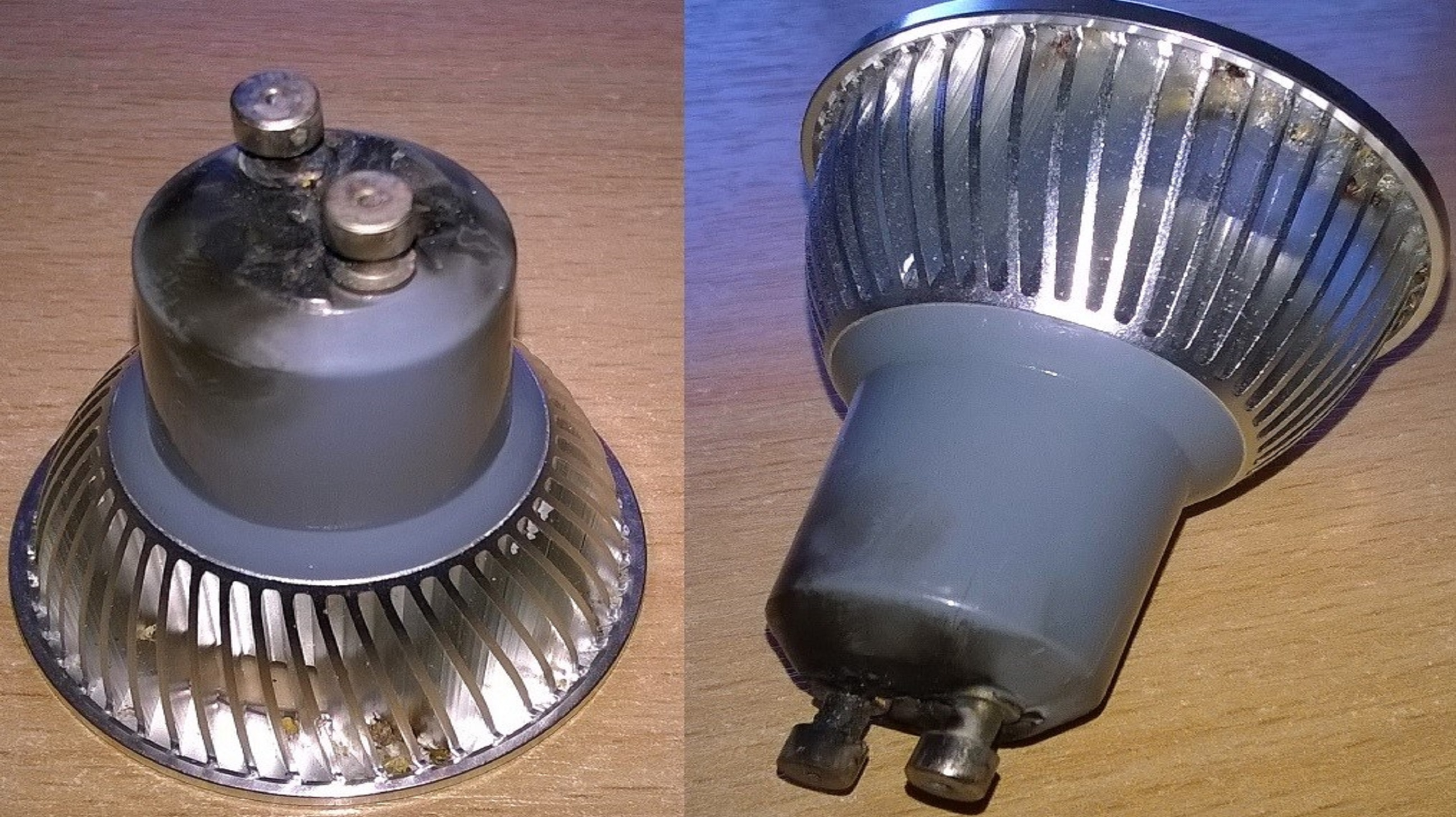 S B Electrical Failed GU10 LED Lamp